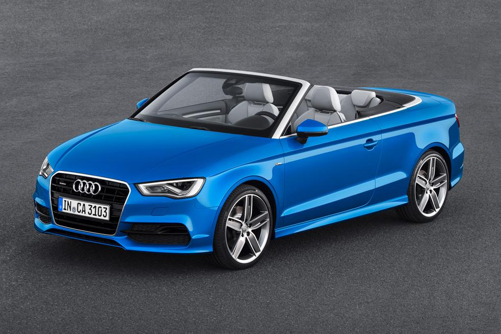 Car rental in Rhodes - Audi A3 S-tronic cabrio (automatic)