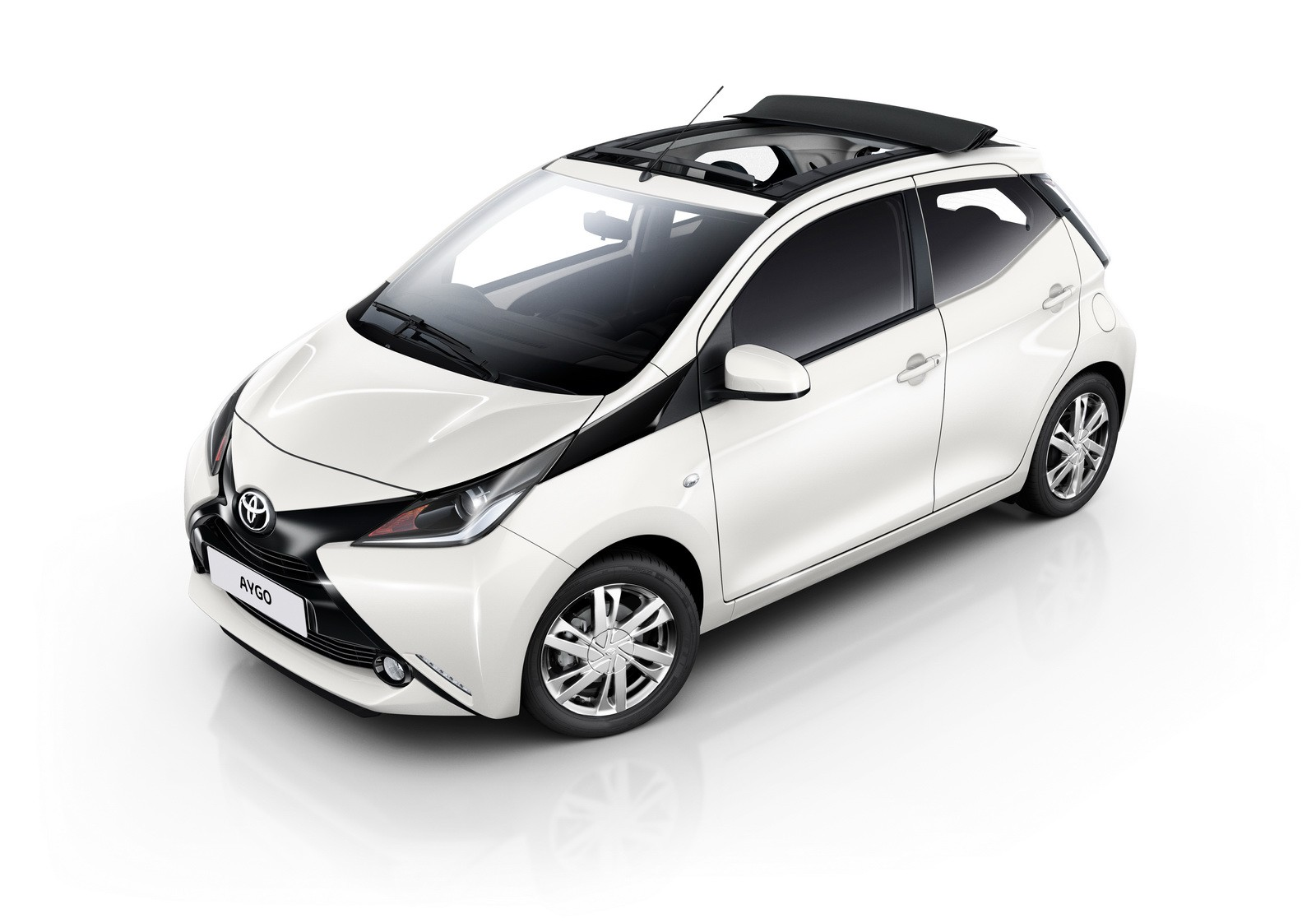 Car rental in Rhodes - Toyota Aygo cabrio