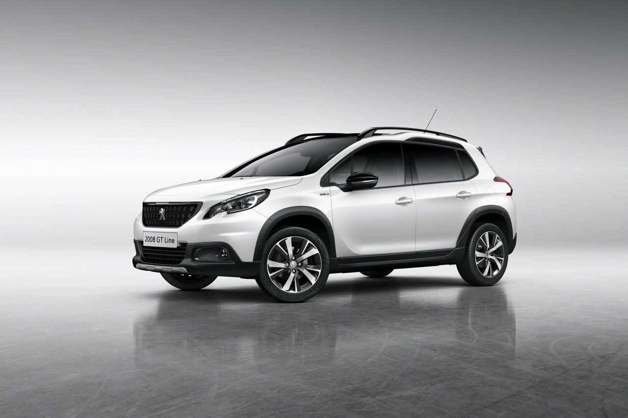 Car rental in Rhodes - Peugeot 2008 Crossover PureTech 82 Active Navigation