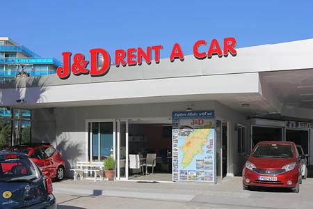 J D Rent A Car Rhodes Greece